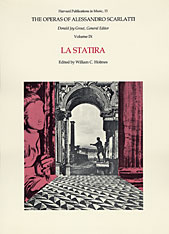 Cover: The Operas of Alessandro Scarlatti, Volume IX: La Statira