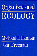 Cover: Organizational Ecology in PAPERBACK