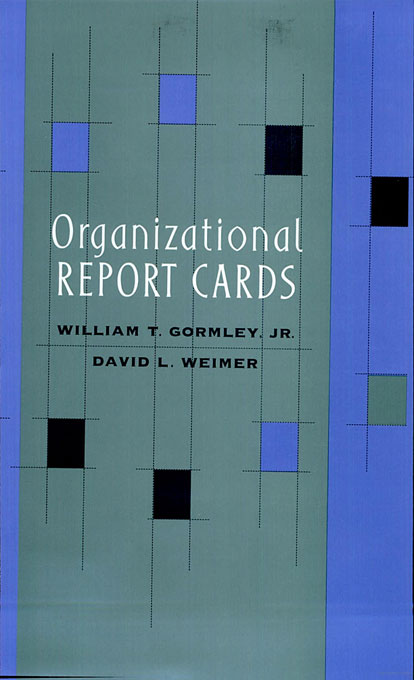 Cover: Organizational Report Cards, from Harvard University Press