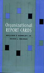 Cover: Organizational Report Cards in HARDCOVER