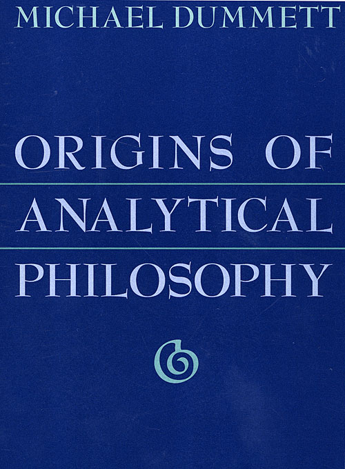 Cover: Origins of Analytical Philosophy, from Harvard University Press