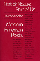 Cover: Part of Nature, Part of Us: Modern American Poets