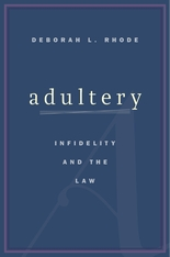 Cover: Adultery: Infidelity and the Law