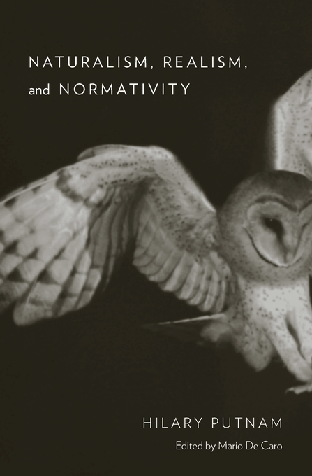 Cover: Naturalism, Realism, and Normativity, from Harvard University Press