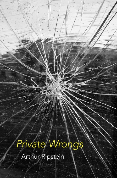 Cover: Private Wrongs, from Harvard University Press