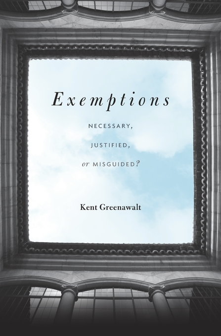 Cover: Exemptions: Necessary, Justified, or Misguided?, from Harvard University Press