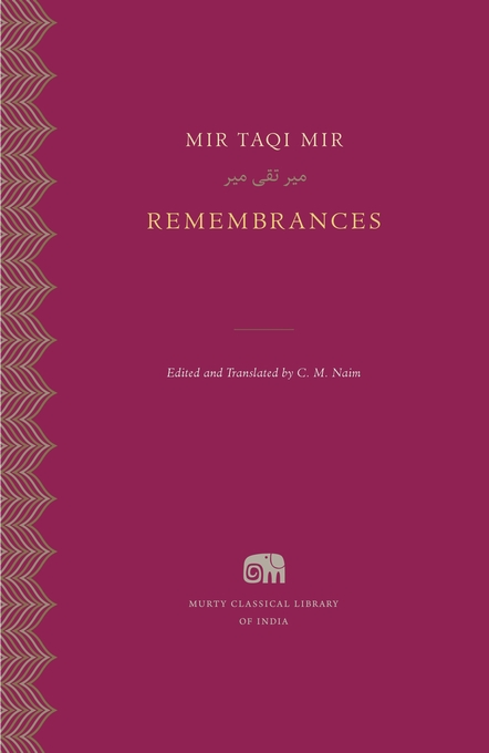 Cover: Remembrances, from Harvard University Press