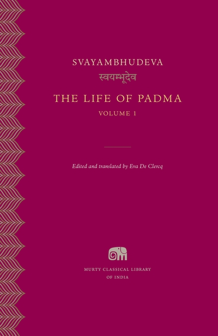 Cover: The Life of Padma, Volume 1, from Harvard University Press