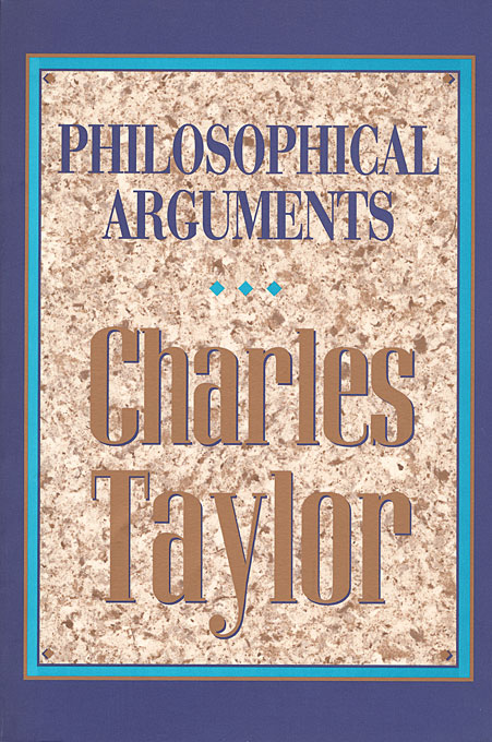 Cover: Philosophical Arguments, from Harvard University Press