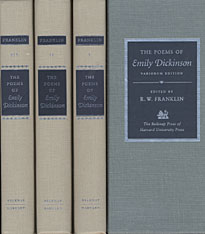 Cover: The Poems of Emily Dickinson: Variorum Edition