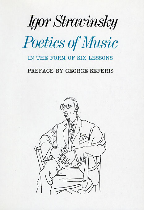 Cover: Poetics of Music in the Form of Six Lessons, from Harvard University Press