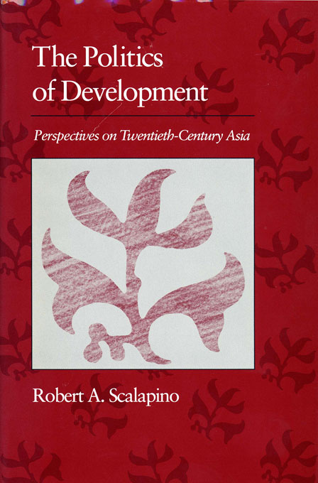 Cover: Politics of Development: Perspectives on Twentieth-Century Asia, from Harvard University Press