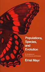 Cover: Populations, Species, and Evolution, An Abridgment of <i>Animal Species and Evolution</i>