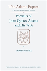 Cover: Portraits of John Quincy Adams and His Wife in HARDCOVER