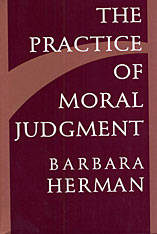 Cover: The Practice of Moral Judgment