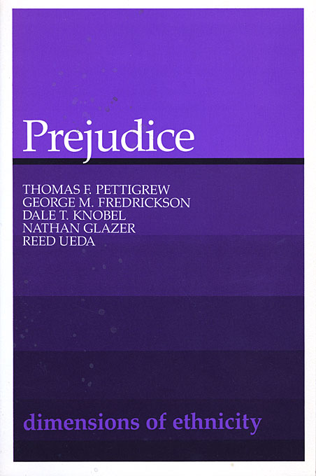 Cover: Prejudice, from Harvard University Press