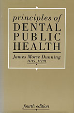Cover: Principles of Dental Public Health: Fourth Edition