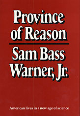 Cover: Province of Reason in PAPERBACK