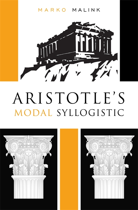 Cover: Aristotle's Modal Syllogistic, from Harvard University Press