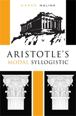 Cover: Aristotle's Modal Syllogistic in HARDCOVER