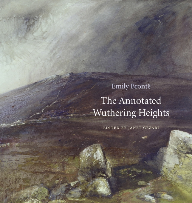 Cover: The Annotated Wuthering Heights, from Harvard University Press