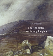 Cover: The Annotated Wuthering Heights, by Emily Brontë, edited by Janet Gezari, from Harvard University Press