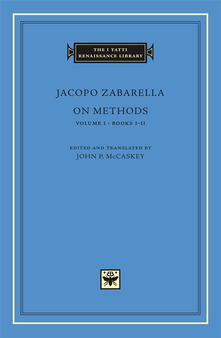 Cover: On Methods, Volume 1: Books I-II, from Harvard University Press