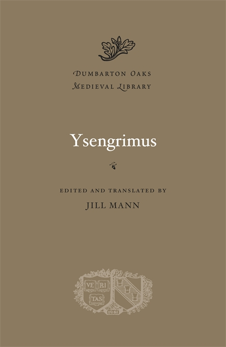 Cover: Ysengrimus, from Harvard University Press