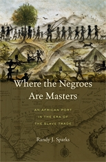 Cover: Where the Negroes Are Masters in HARDCOVER