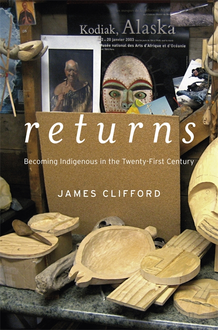 Cover: Returns: Becoming Indigenous in the Twenty-First Century, from Harvard University Press
