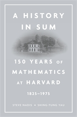 Cover: A History in Sum: 150 Years of Mathematics at Harvard (1825–1975)