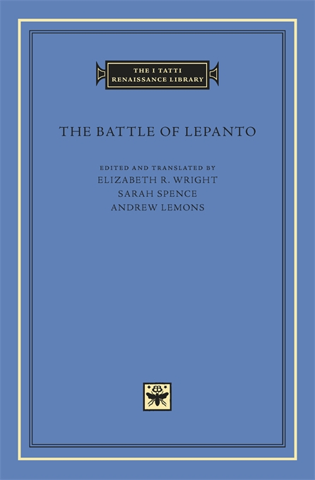 Cover: The Battle of Lepanto, from Harvard University Press