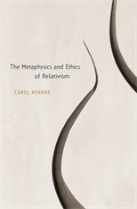 Cover: The Metaphysics and Ethics of Relativism in HARDCOVER