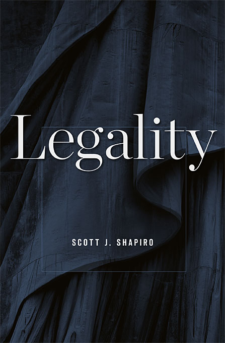Cover: Legality, from Harvard University Press
