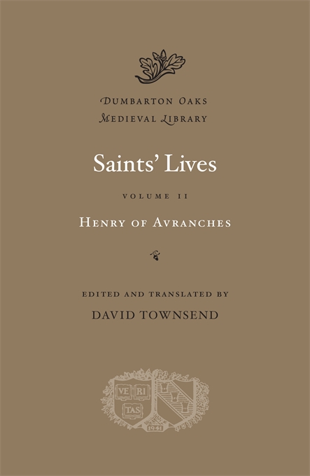 Cover: Saints' Lives, Volume II, from Harvard University Press