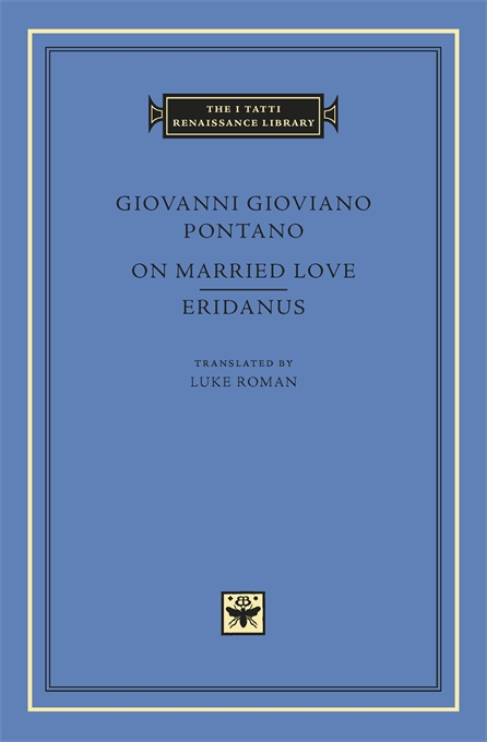 Cover: On Married Love. Eridanus, from Harvard University Press