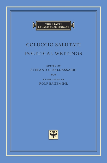 Cover: Political Writings, from Harvard University Press