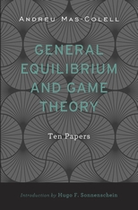 Cover: General Equilibrium and Game Theory in HARDCOVER
