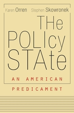 Cover: The Policy State: An American Predicament