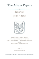 Cover: Papers of John Adams, Volume 17: April-November 1785
