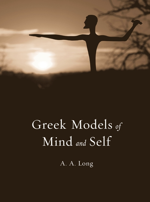 Cover: Greek Models of Mind and Self, from Harvard University Press