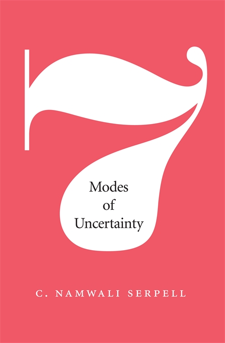 Cover: Seven Modes of Uncertainty, from Harvard University Press