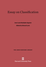 Cover: Essay on Classification in E-DITION