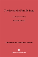 Cover: The Icelandic Family Saga: An Analytic Reading