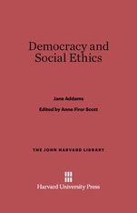 Cover: Democracy and Social Ethics