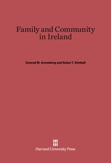 Cover: Family and Community in Ireland: Second Edition