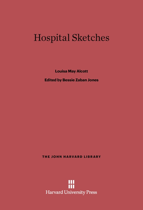 Cover: Hospital Sketches, from Harvard University Press