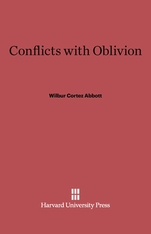 Cover: Conflicts with Oblivion: Second edition