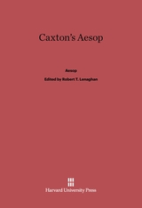 Cover: Caxton's Aesop in E-DITION