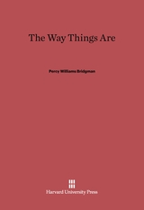 Cover: The Way Things Are